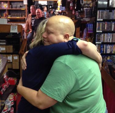 The hug. <3